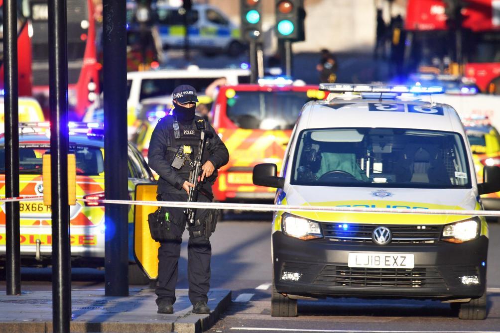 Un coup de feu tiré sur le London Bridge