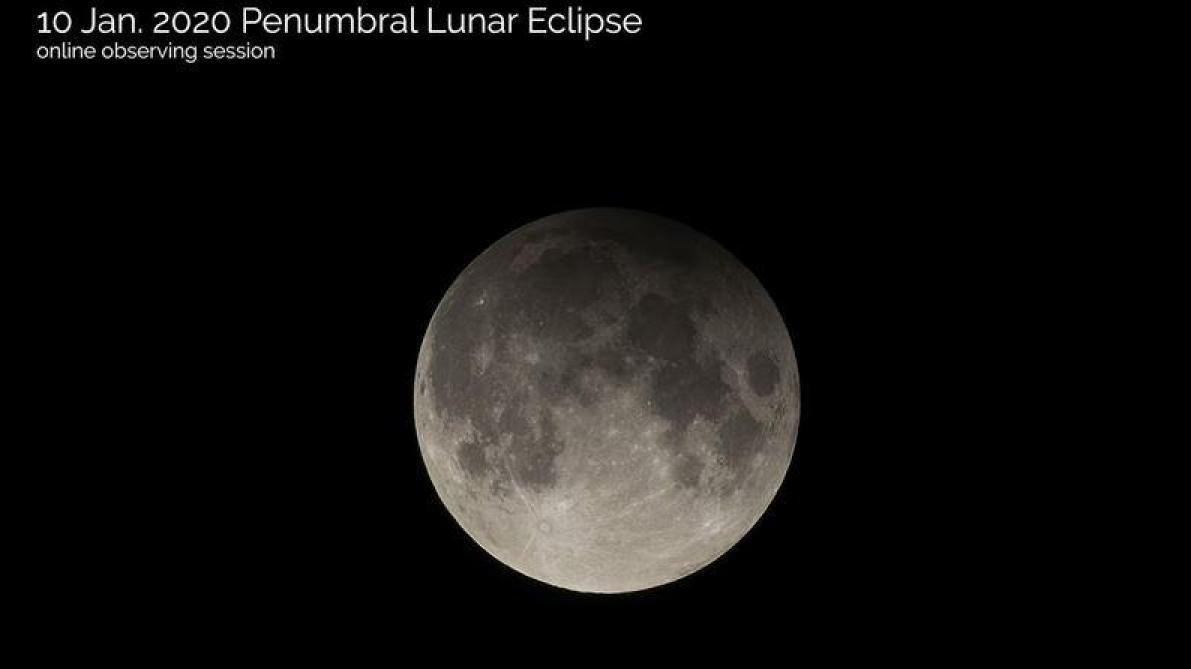 Une éclipse lunaire partielle visible vendredi soir