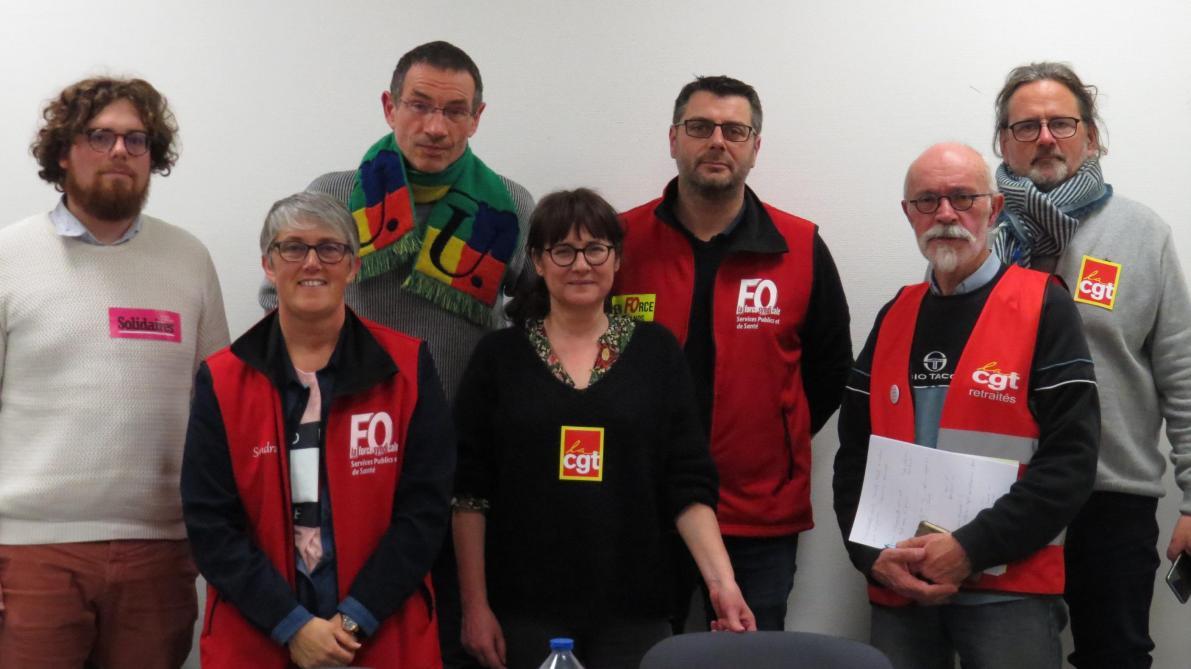 Les membres de l'intersyndicale restent mobilisés contre le projet.