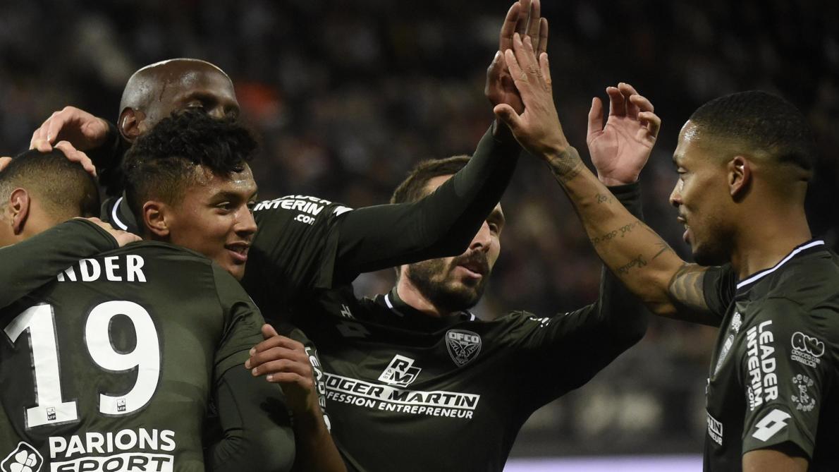 Les qualifiés pour les quarts de finale — Coupe de France