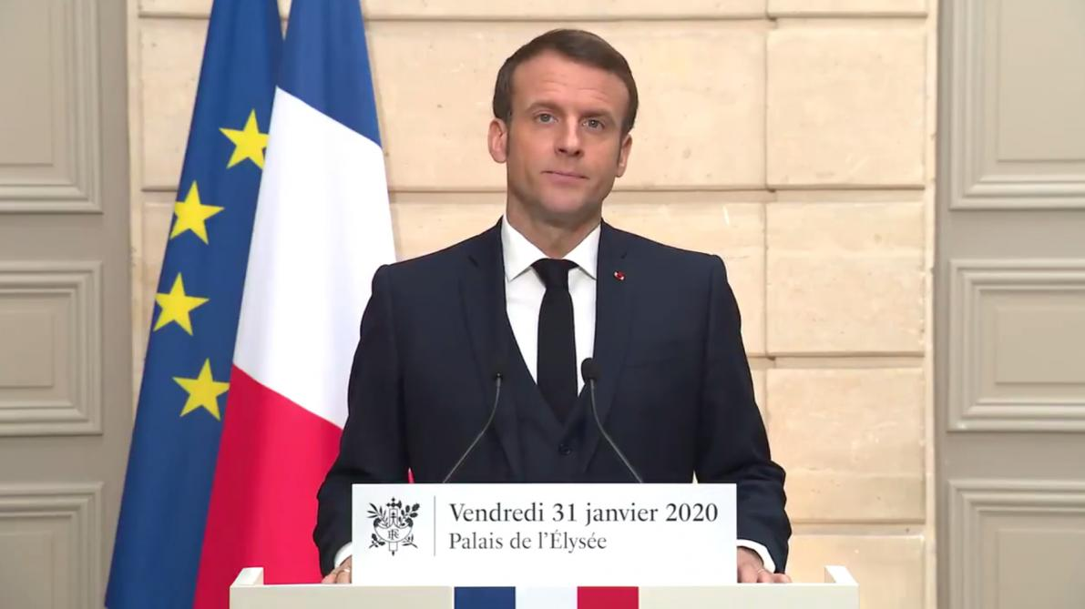 France: Macron qualifie le Brexit de