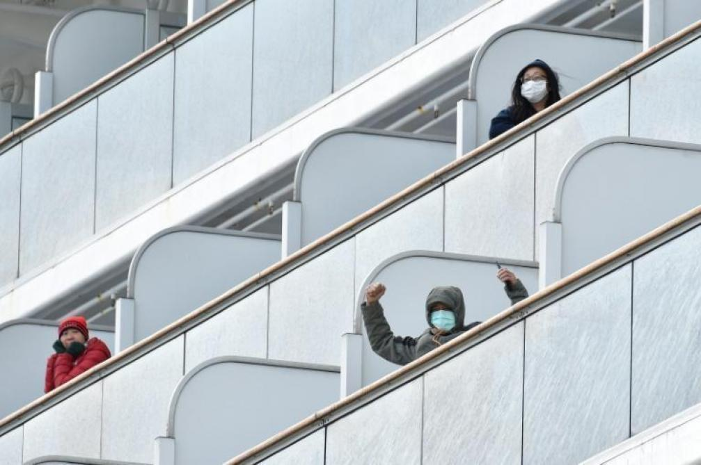 Coronavirus: 39 nouveaux cas de contamination à bord du paquebot au Japon