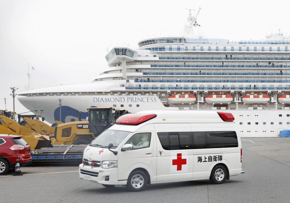 Japon: 99 nouveaux cas de coronavirus à bord du