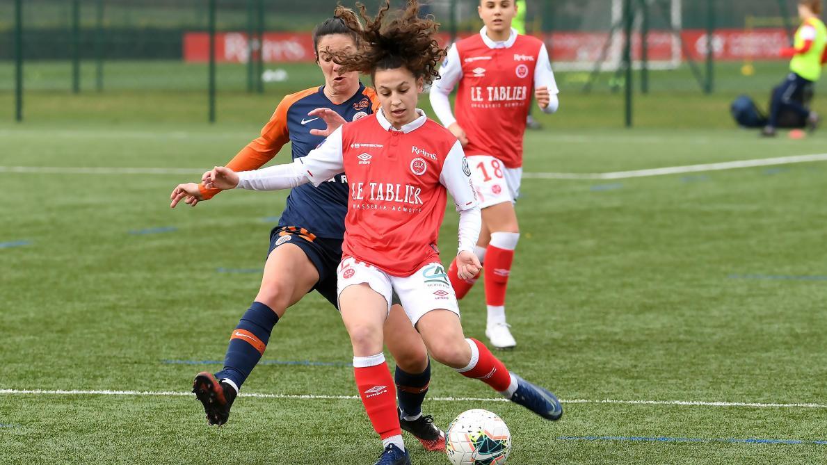 Football D1 Feminine Le Compteur Continue De Tourner Pour Le Stade De Reims