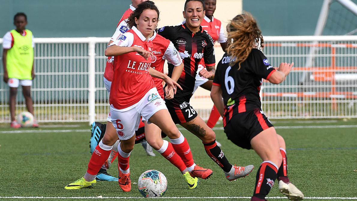 Football D1 Feminine Les Joueuses Du Stade De Reims Ont Ete