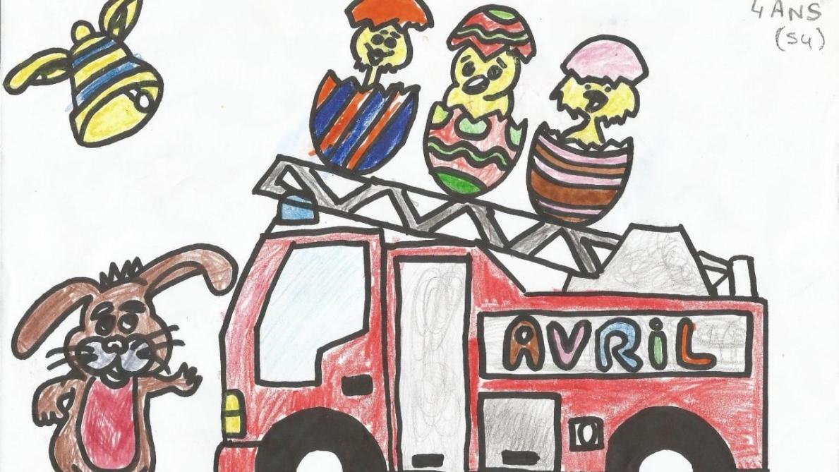 Des Dessins Pour Le Calendrier Des Pompiers De La Chaussee Sur Marne