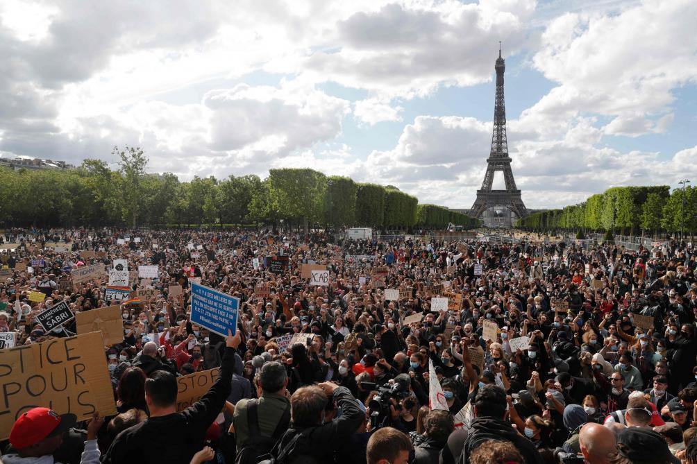 Ils étaient 120 à dénoncer le racisme et les violences policières — Tarbes