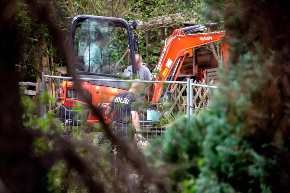 Affaire Maddie : la police allemande fouille un jardin ouvrier à Hanovre