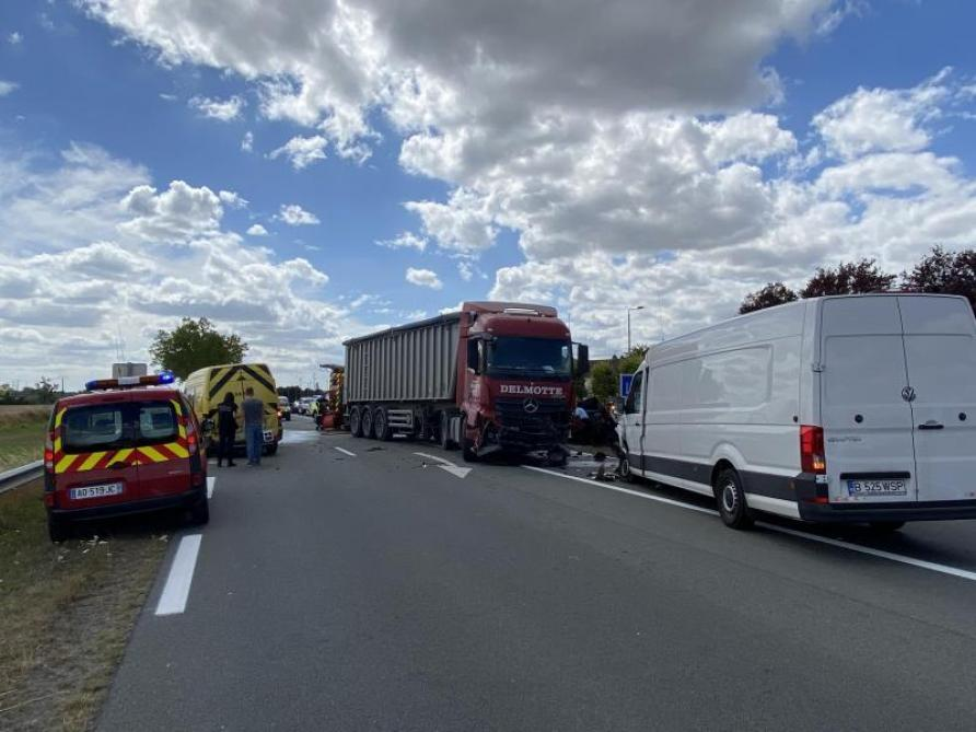 Quatre enfants meurent dans un accident de la circulation — Laon