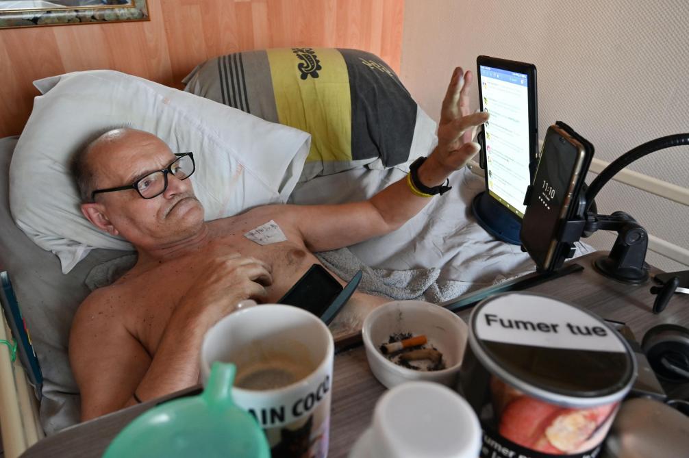 Dijon : Alain Cocq hospitalisé après 4 jours sans traitement, sa mandataire proteste