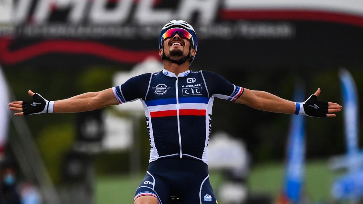 Ganna à la vitesse du vent sur le chrono — Mondiaux de cyclisme