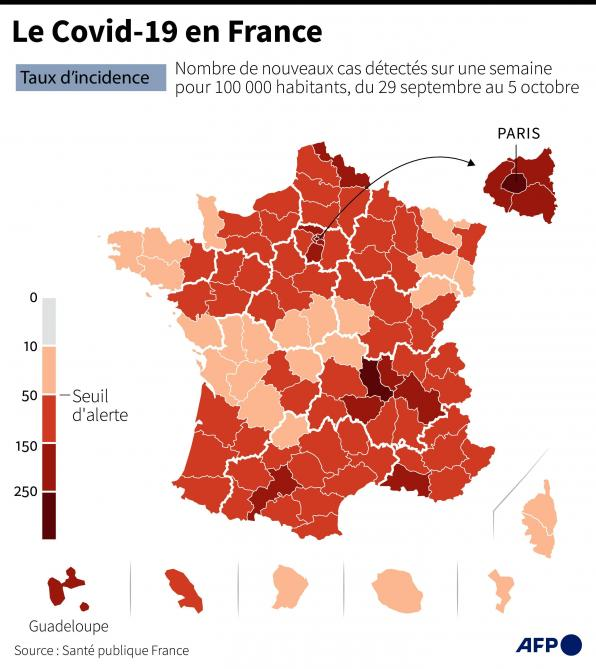 Covid 19 Quatre Nouvelles Villes En Zone D Alerte Maximale Ce Samedi En France Et Restrictions En Europe