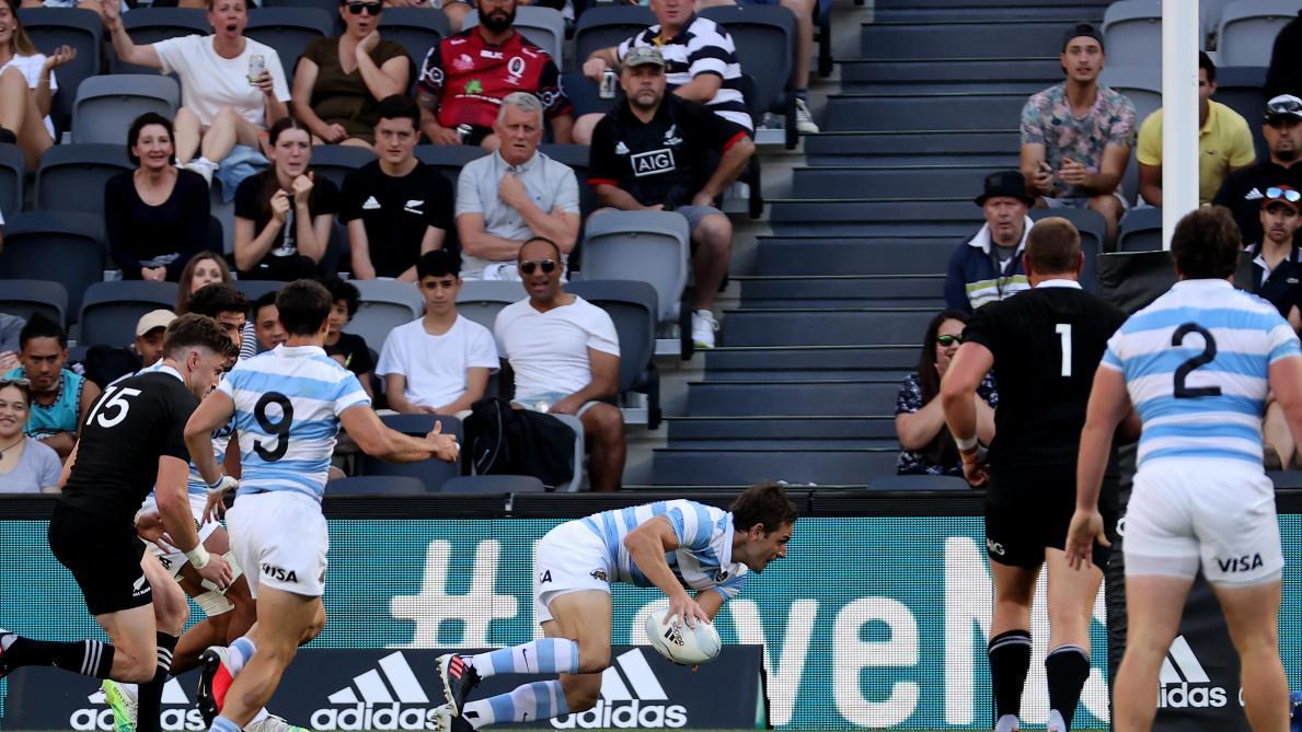 Les Pumas signent un exploit en battant les All Blacks — Rugby Championship