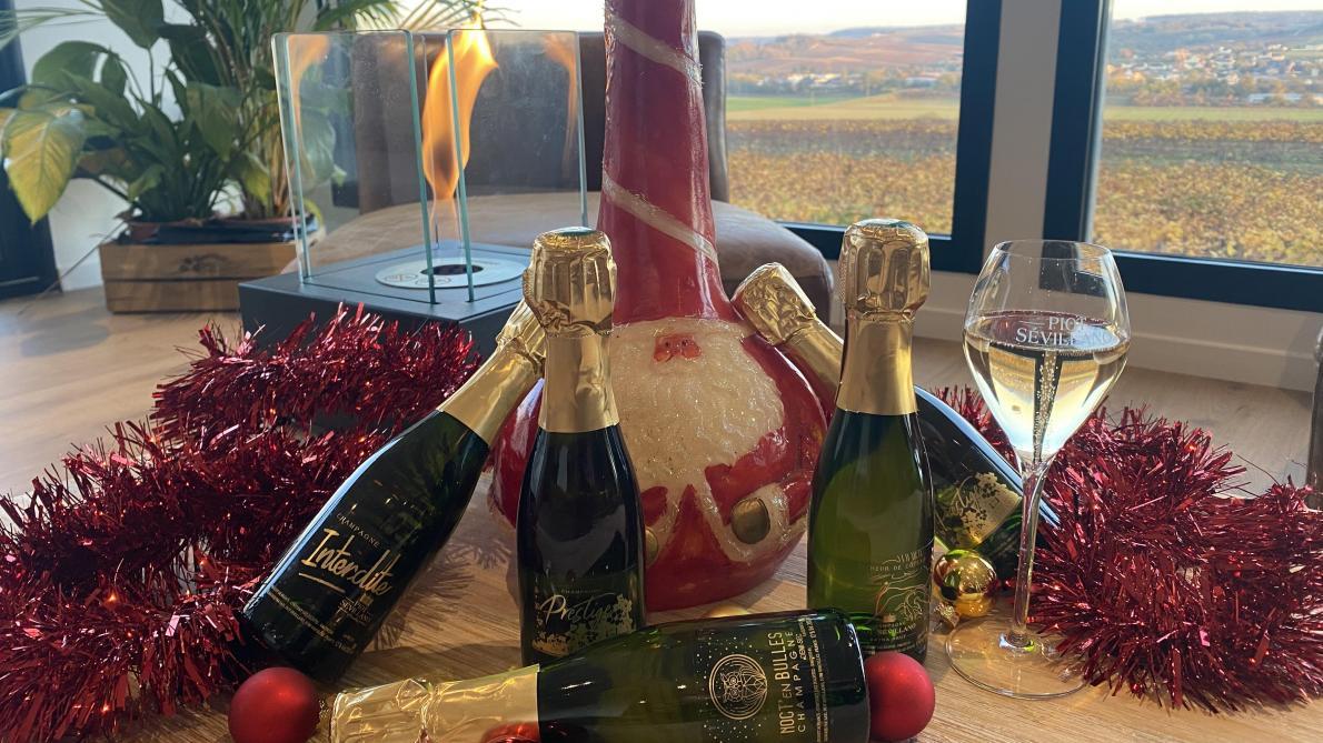 Le champagne Piot Sévillano lance son calendrier de l'avent avec