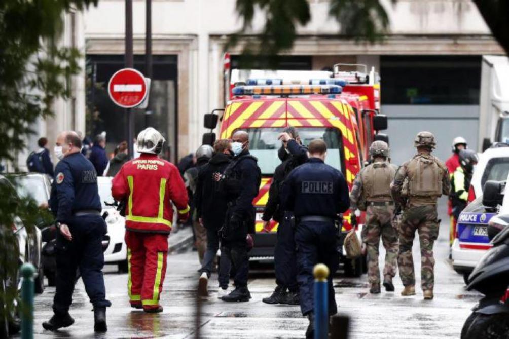 Attaque devant Charlie Hebdo : un homme arrêté à Caen