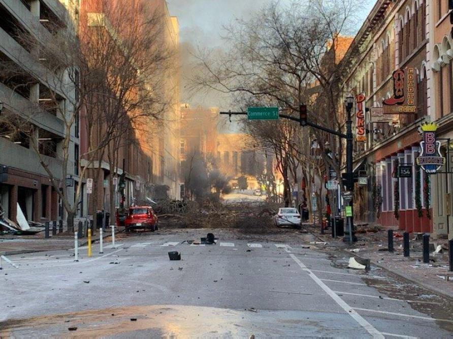 États-Unis : Une violente explosion secoue la capitale du Tennessee