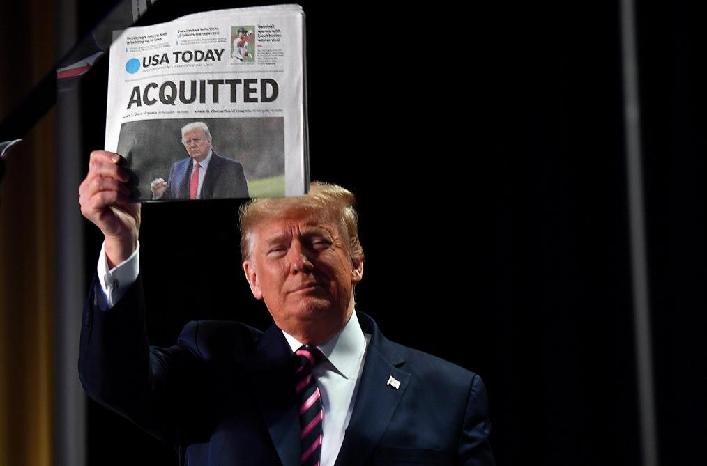 Le procès en destitution de Trump débutera la semaine du 8 février