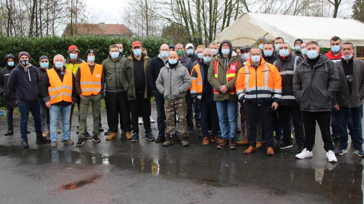 Carignan: un mouvement de grève à la Foulerie