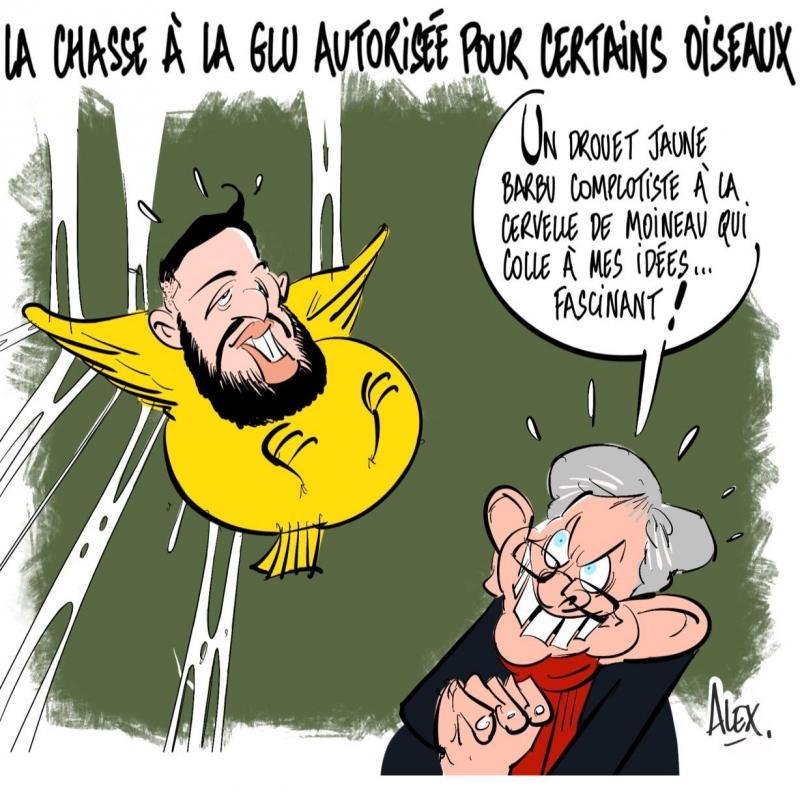 Un caricaturiste menacé de mort — Gilets jaunes