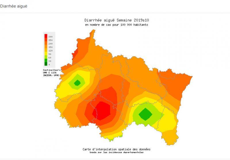 Carte Accord Upmc.La Region Grand Est Particulierement Touchee Par L Epidemie